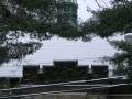 steeple with snow 2